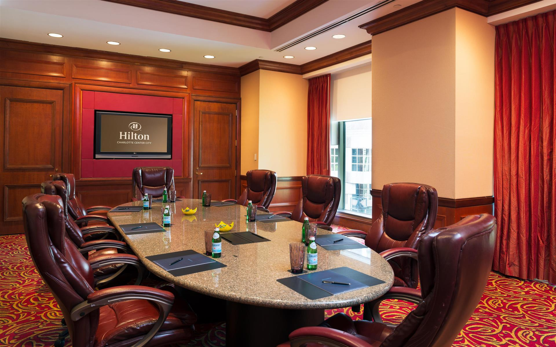 Hilton Charlotte Center City - Morehead Boardroom