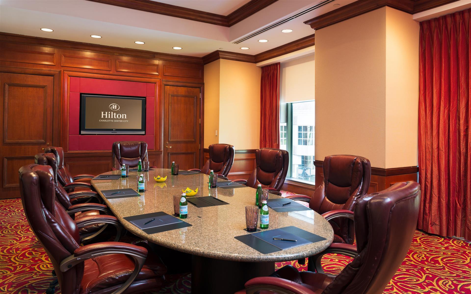 Hilton Charlotte Center City - Morehead Boardroom