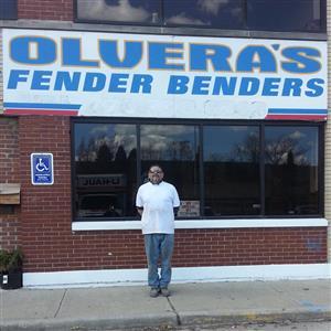 Logo of Olvera's Fender Benders