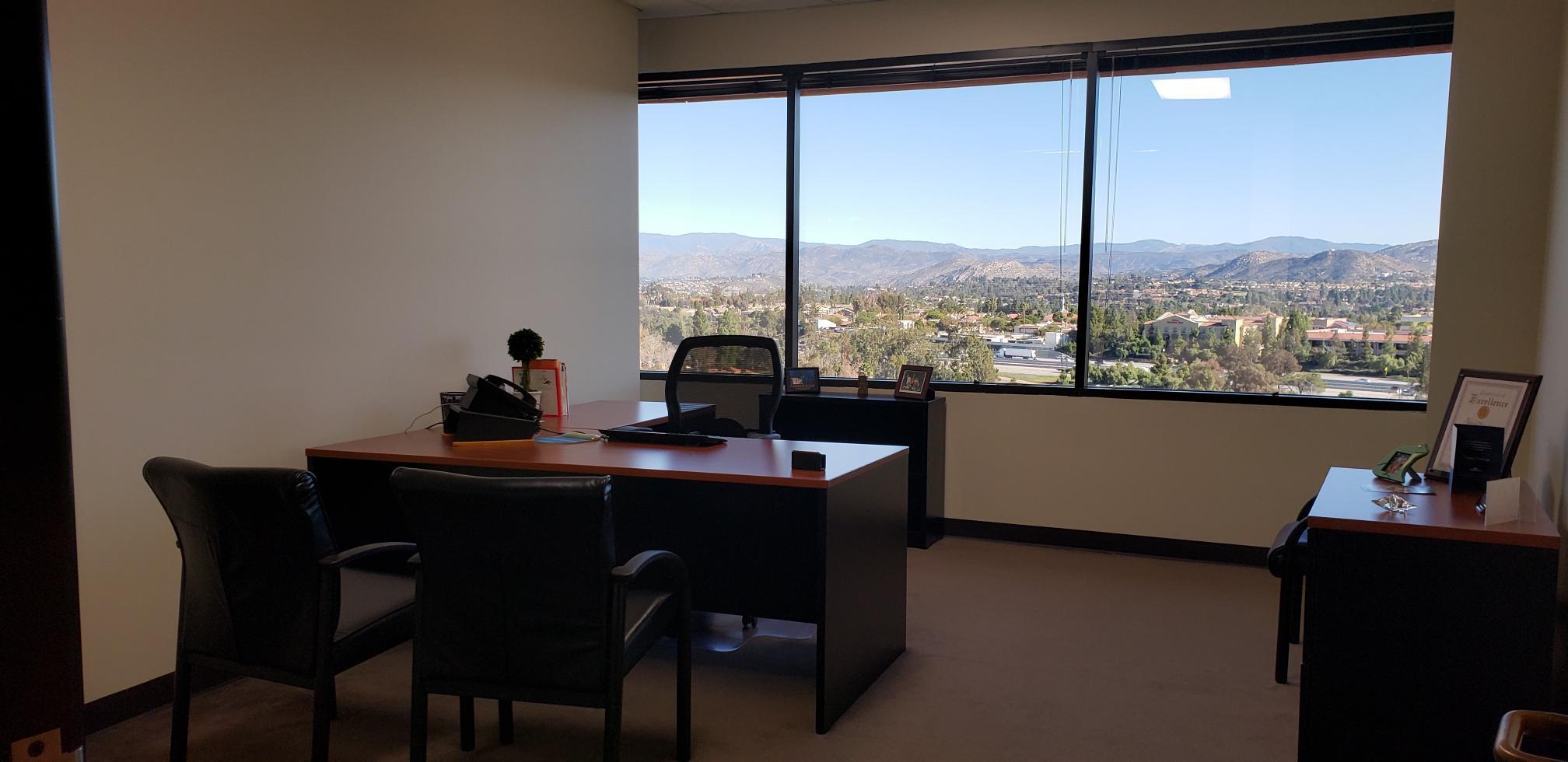 (RB1) Rancho Bernardo - Exterior Corner Office #339