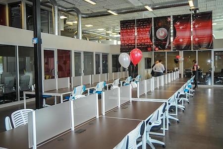GRID COLLABORATIVE WORKSPACES - Dedicated Desk 24/7 Acces