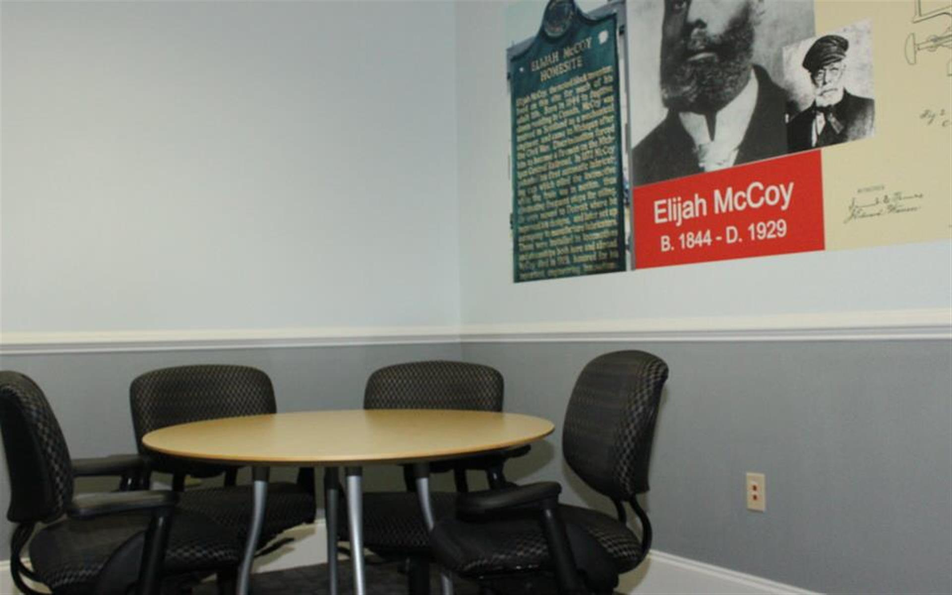 Ibis Venue Center - Elijah McCoy Small Meeting Room