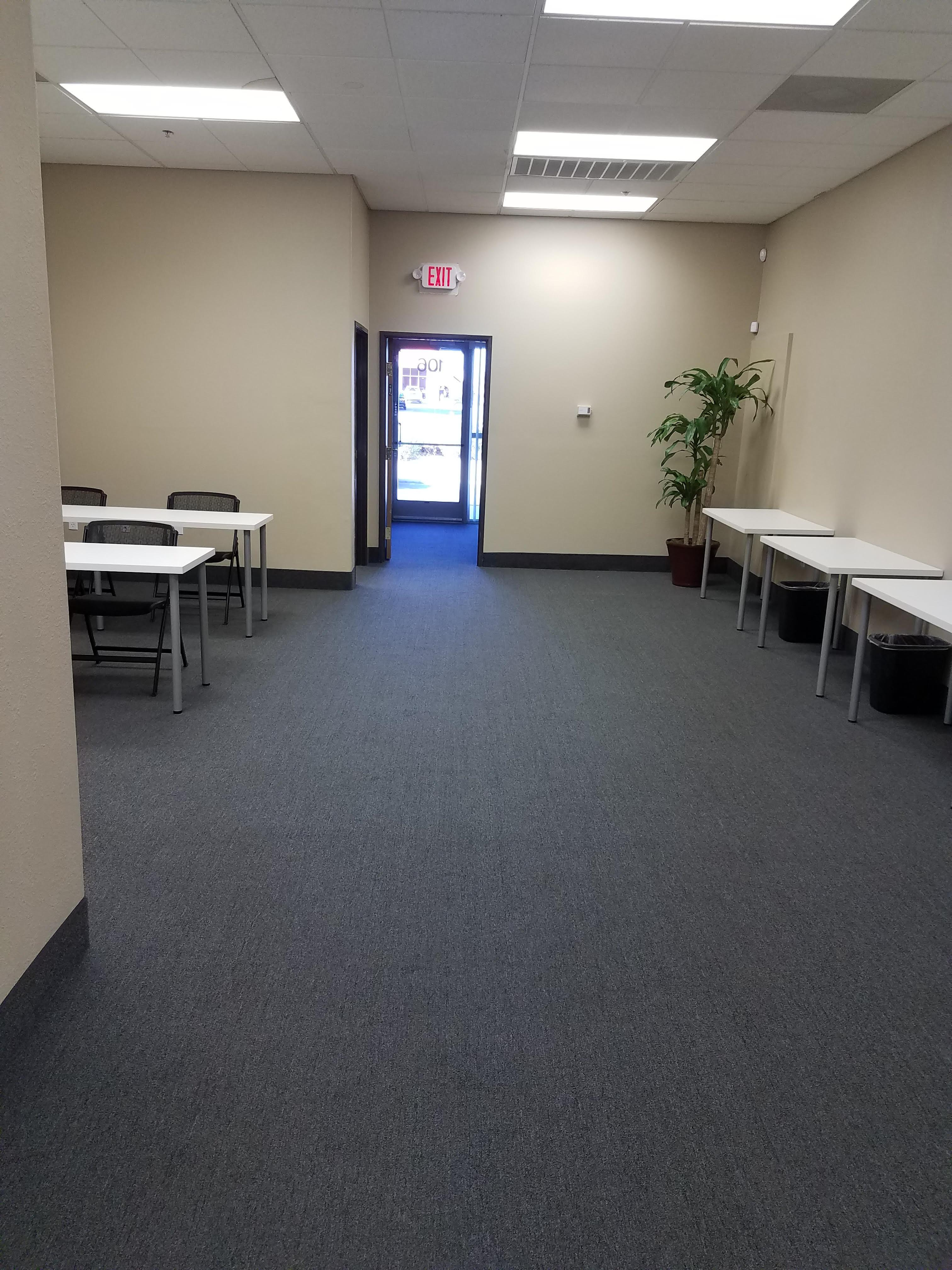 Evus Technologies - Open Area with Meeting Space