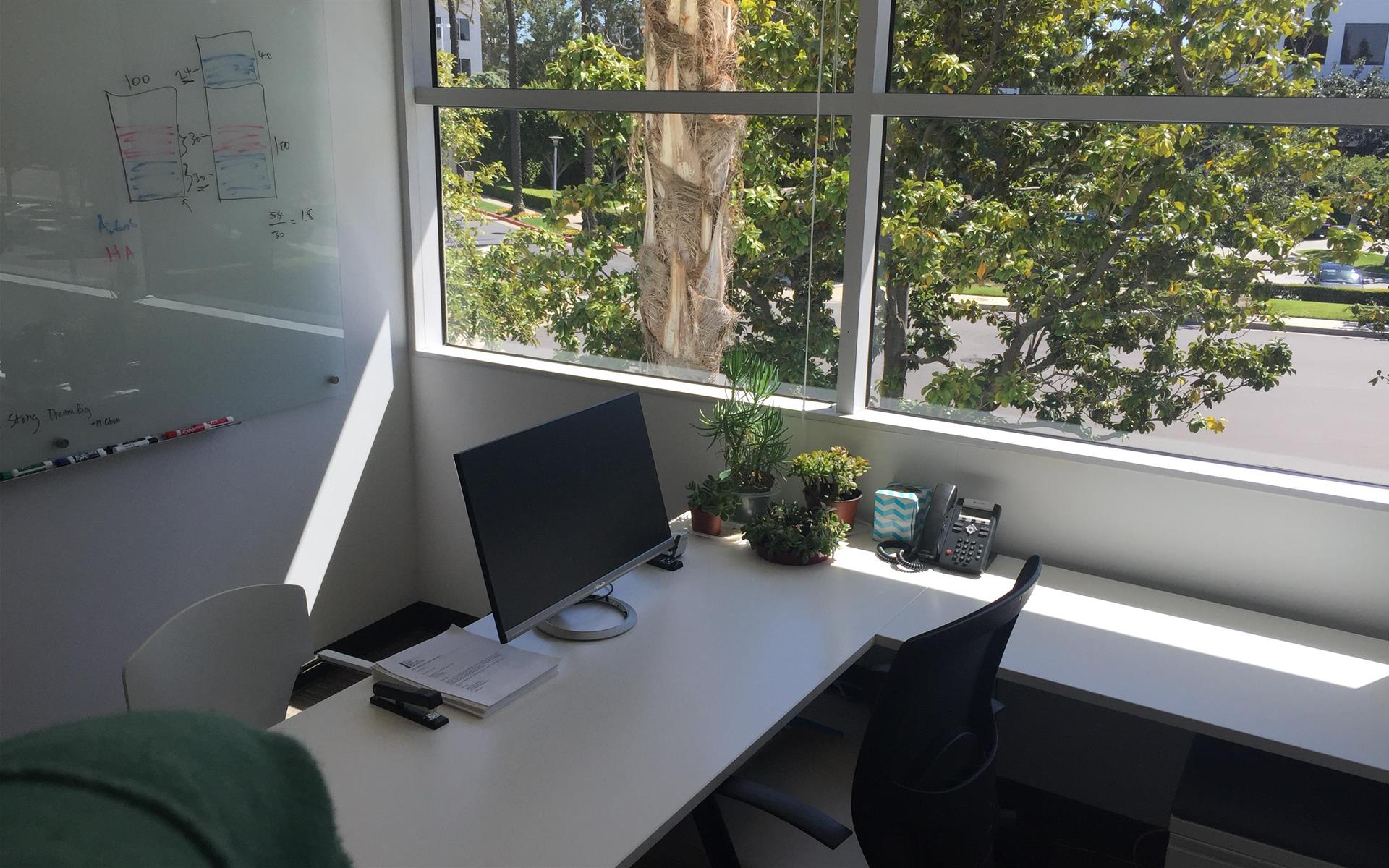 TMC Group - Private Office with Window View