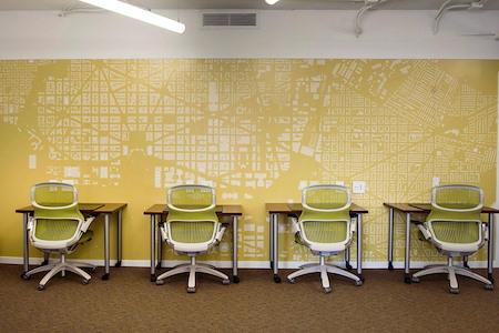 Carr Workplaces - Dupont - Touchdown Desks