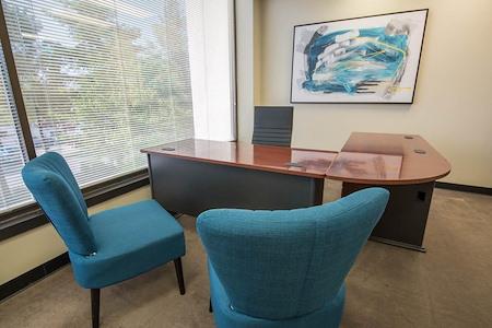 WORKSUITES | North Houston - WINDOW OFFICE | 2-3 PEOPLE