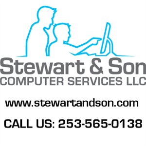Logo of Stewart and Son Computer Services, LLC