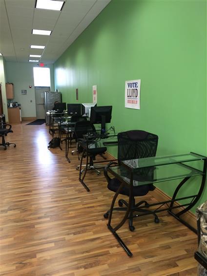 Cowork Buffalo - Heads Down Desks