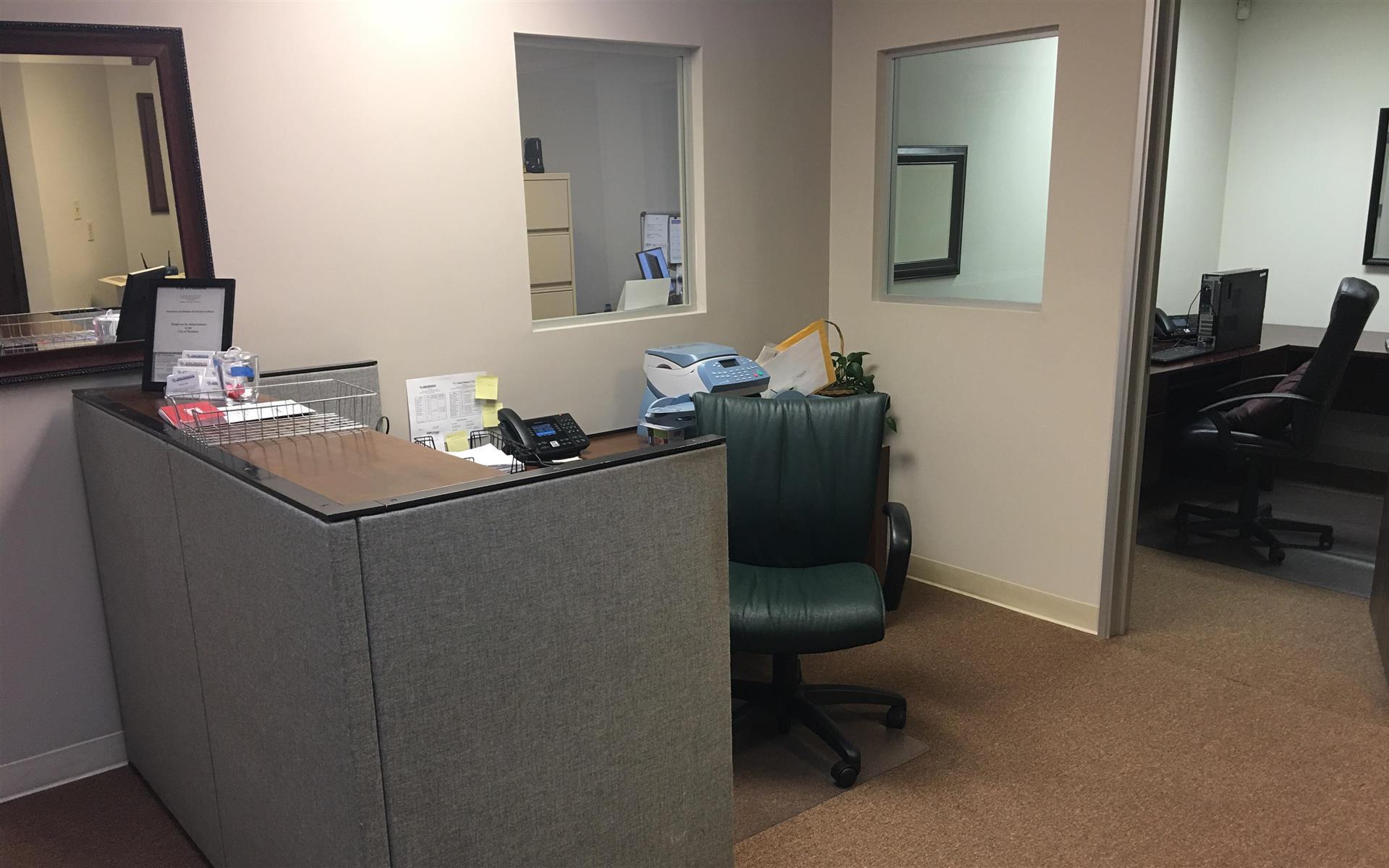 United Agencies Inc. - Dedicated Reception Desk