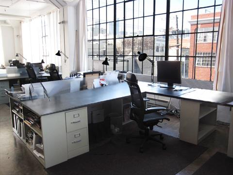 Cool designer industrial team space - Dedicated Desks (16 available)