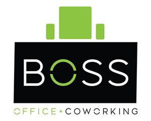 Logo of BOSS Office & CoWorking