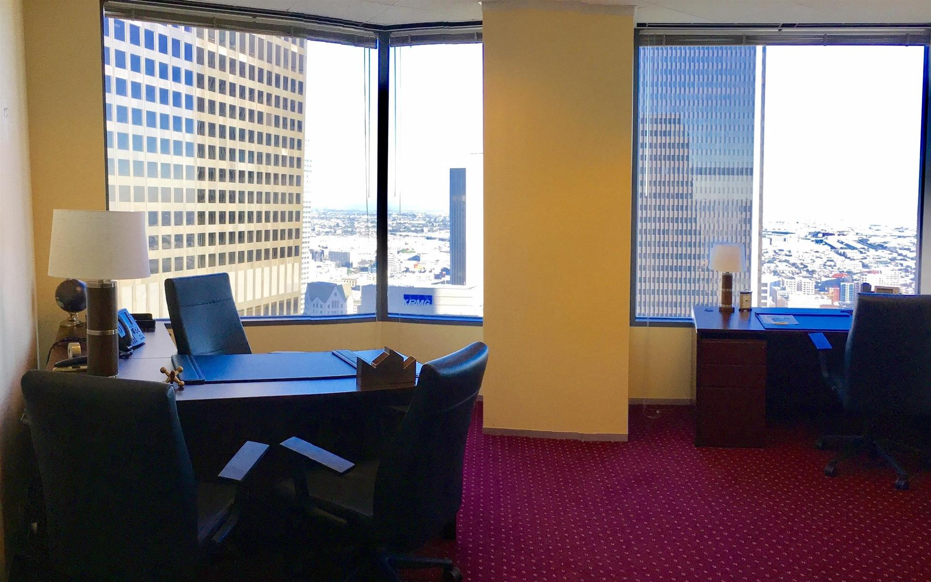 Servcorp - Downtown Los Angeles - 3 Person Office w/ View