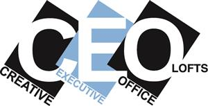 Logo of CEO Lofts near Penn Station NYC