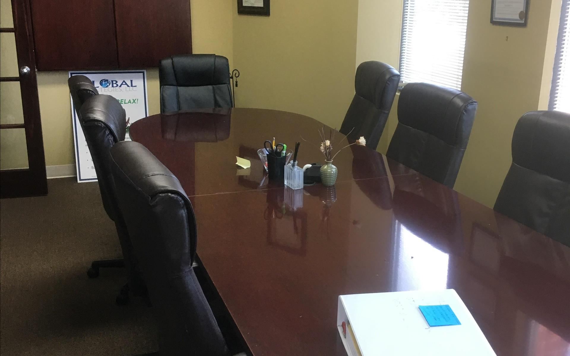 Global Strategies LLC, - Conference room