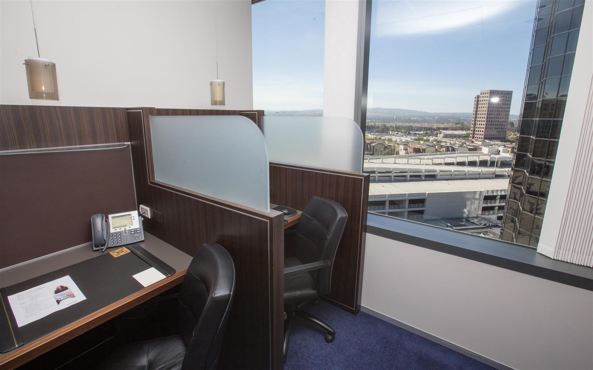 Servcorp - Orange County - Coworking Lounge Workspace 1