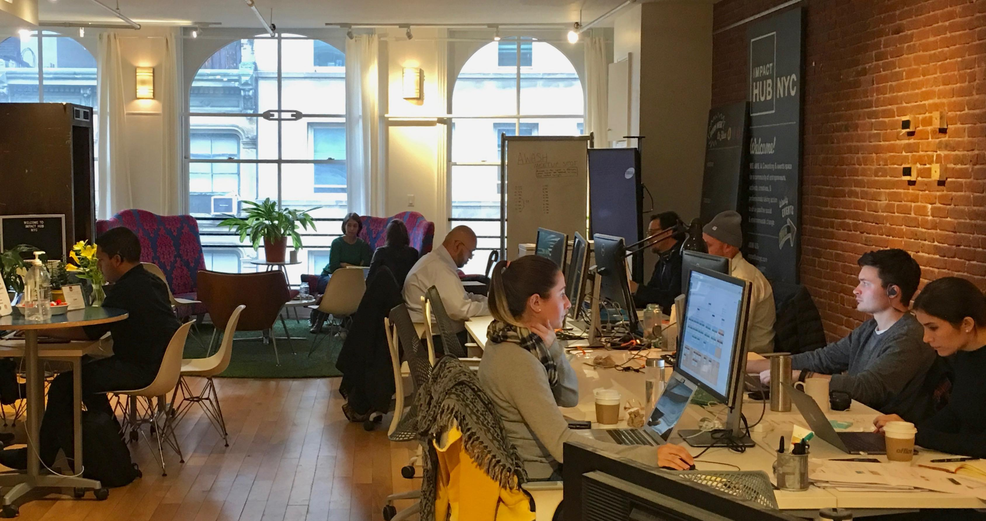 Impact Hub NYC - CommunityPlus Co-working
