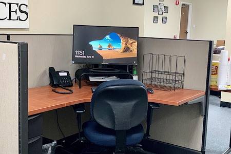 Silicon Valley FACES has space and resources for you! - Private Dedicated Desk with EVERYTHING