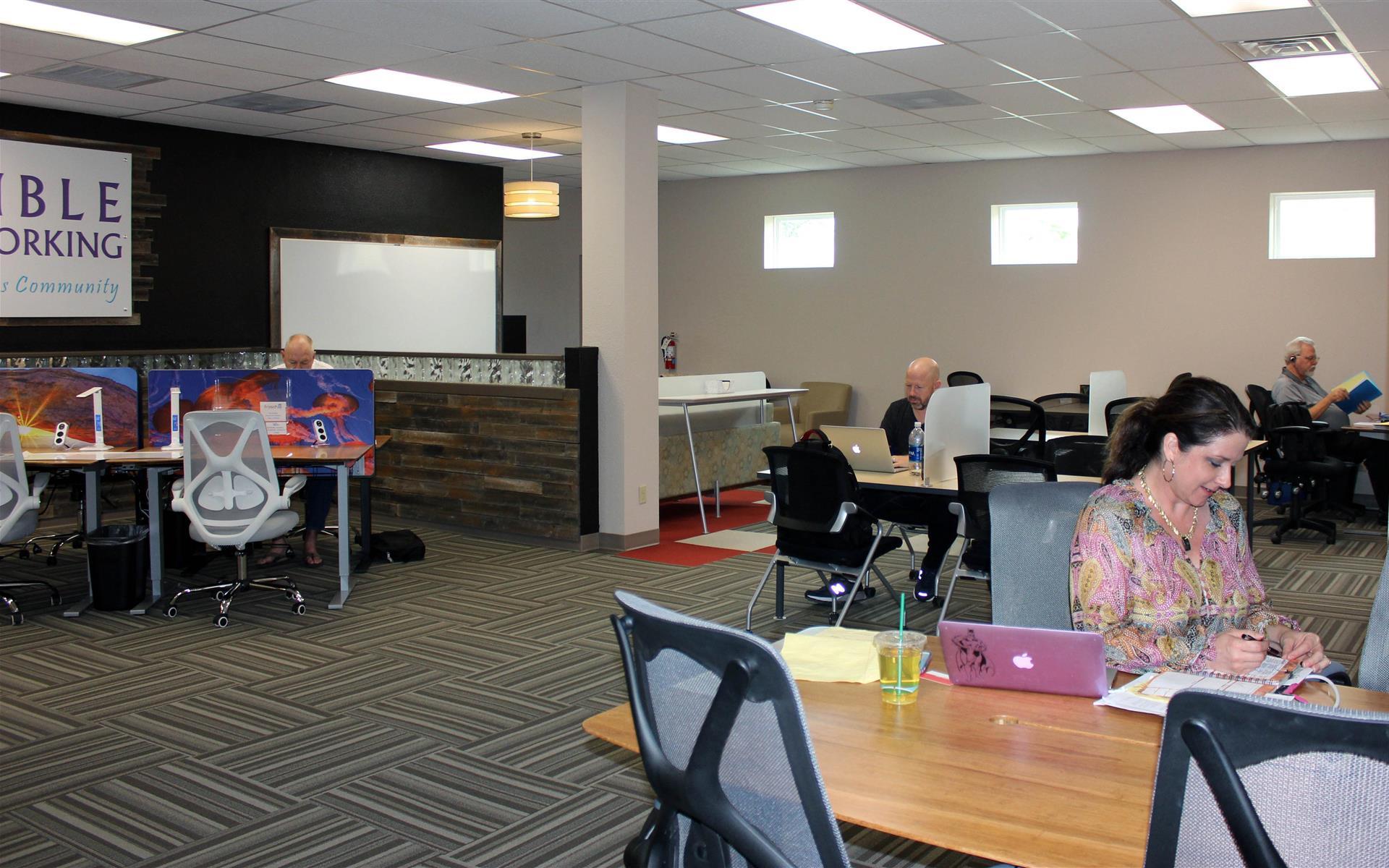 Ensemble Coworking - Drop-in Flexible Workspace