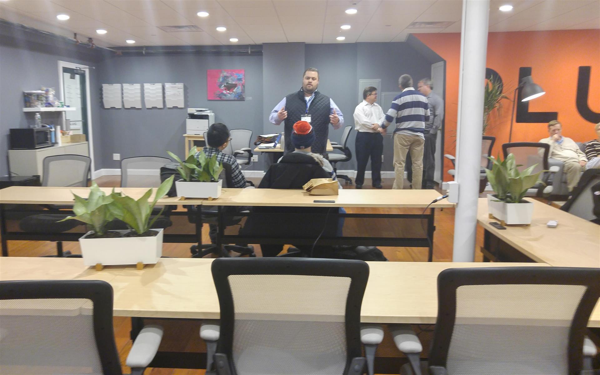 Plug Cambridge Coworking - Coworking- Open Workspace