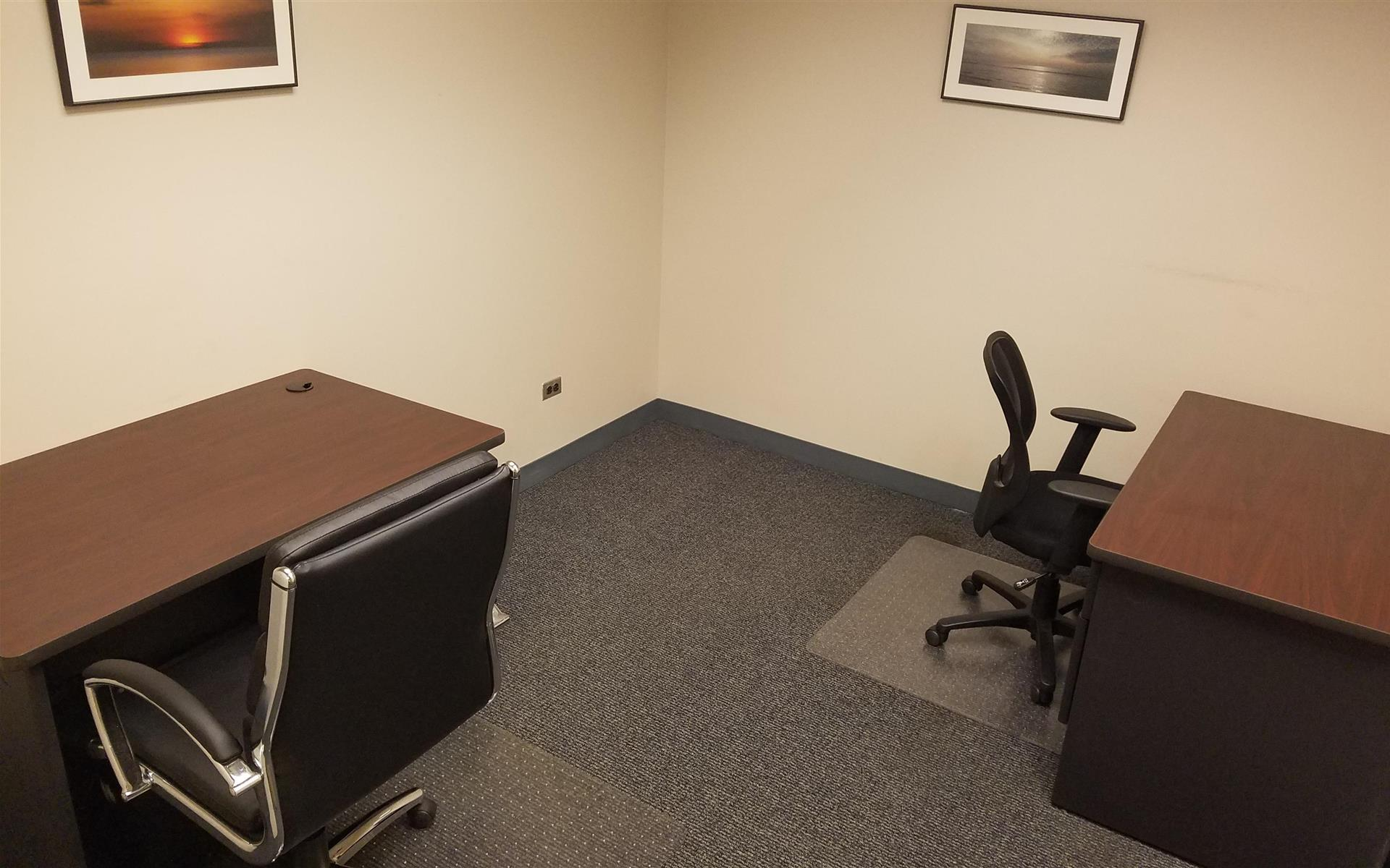 Chicago Virtual Office - 2 person office - interior