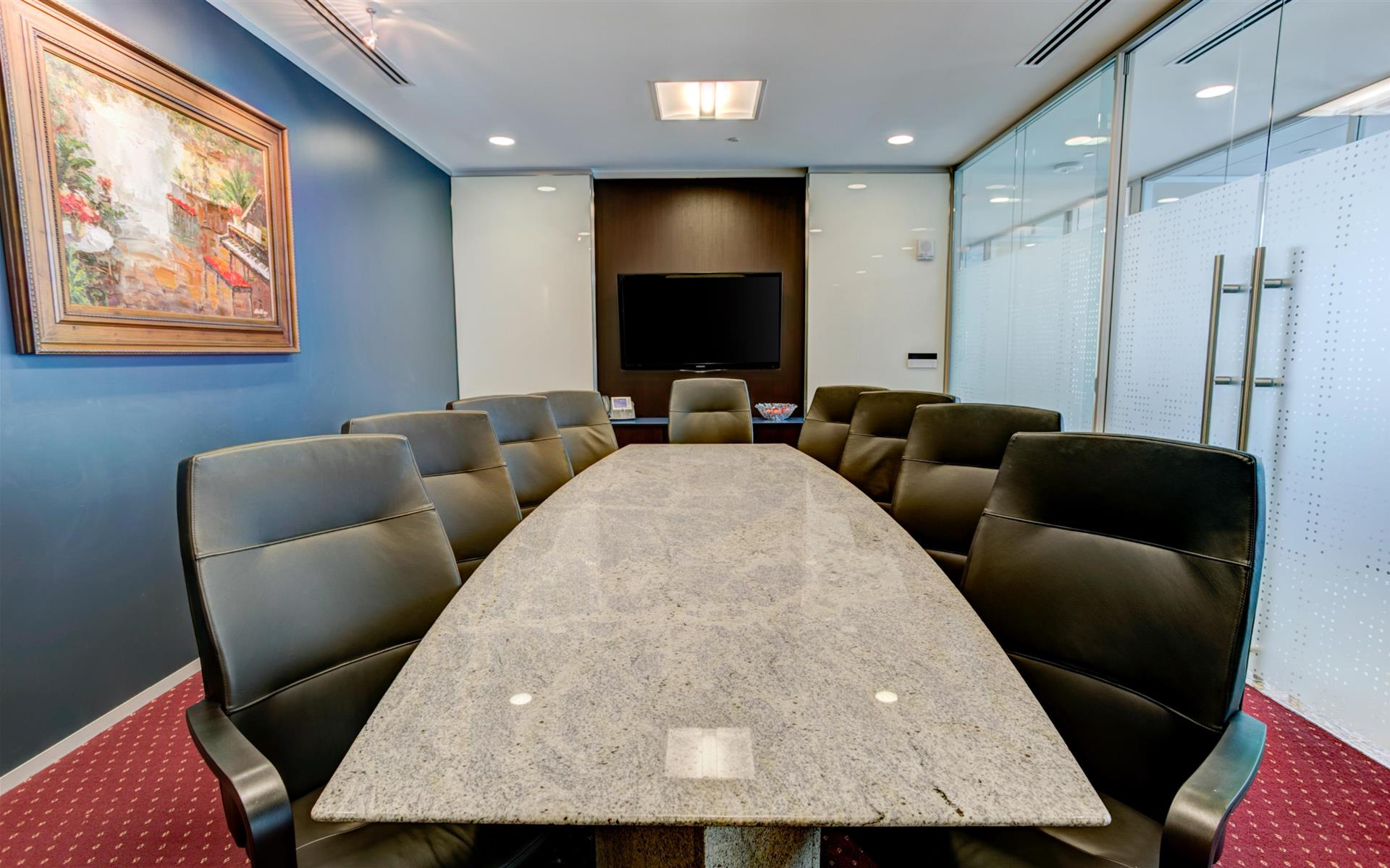 Servcorp - Atlanta 12th & Midtown - Executive Boardroom 10 people