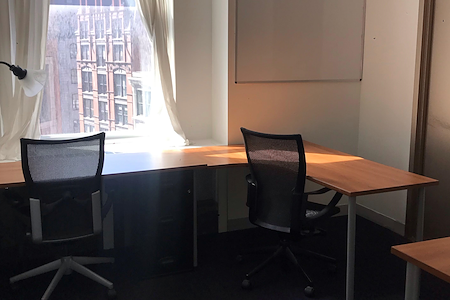 Coalition Space   Flatiron - Windowed Office with Private Alcove