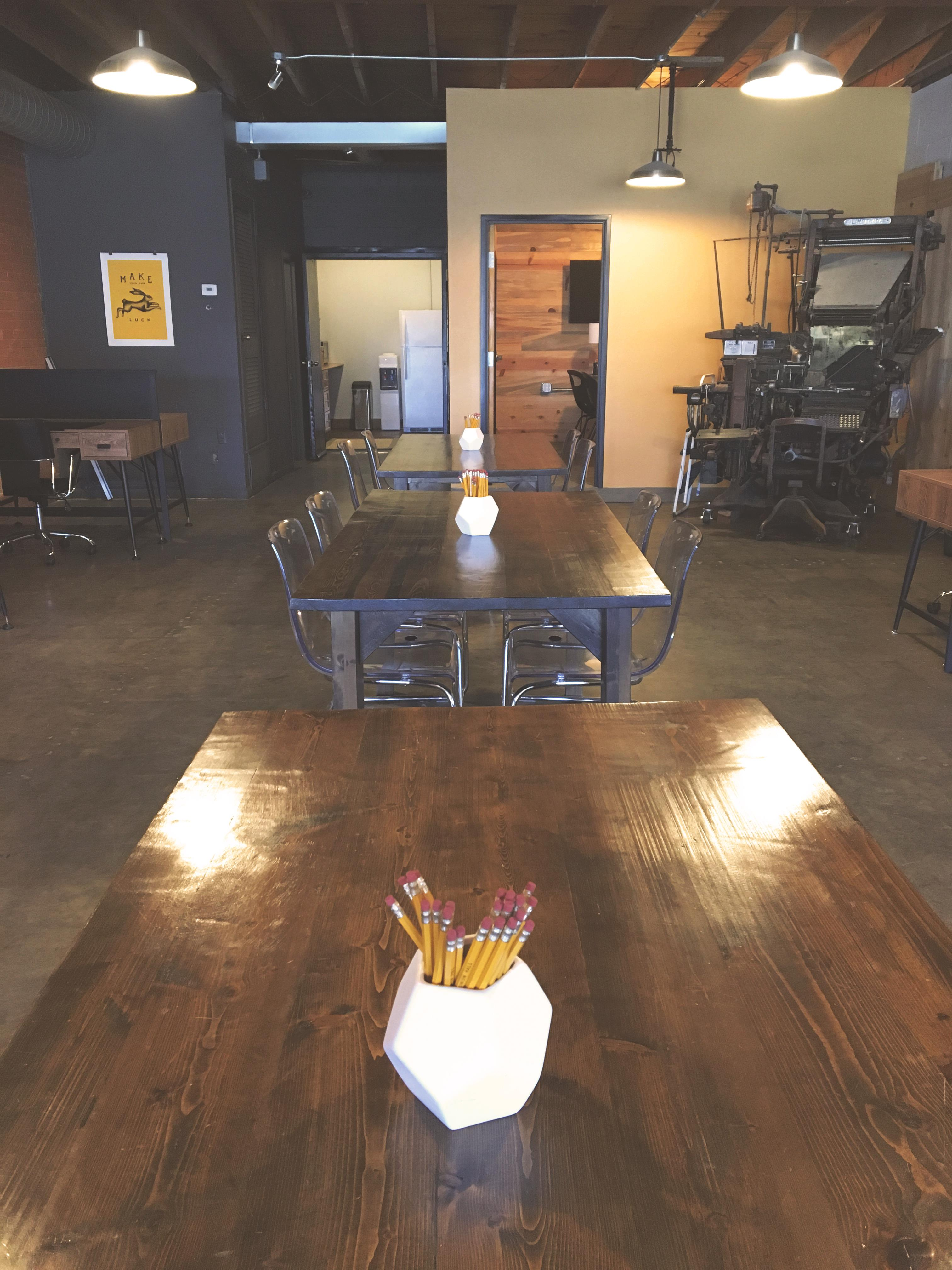 The Union Hall Workspace - Day Pass-Flex Space