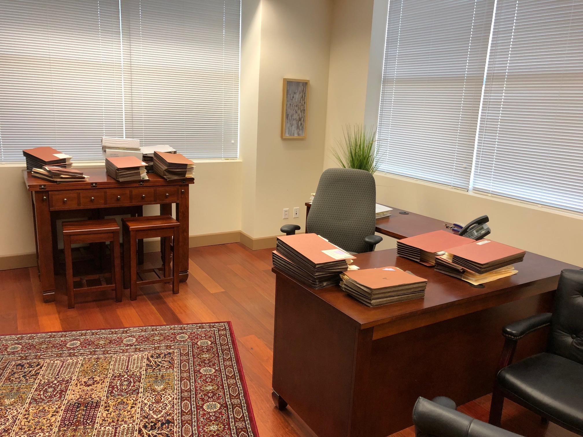 Executive Suite And Connecting Office At Pbmb