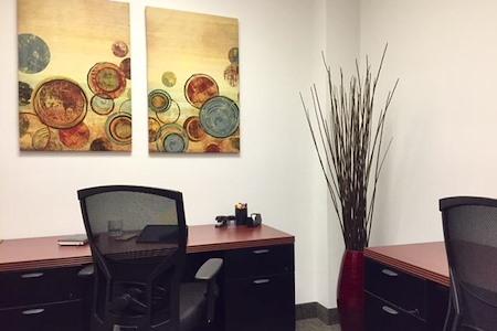 Crown Center Executive Suites (CCESuites) - Dedicated Desk in Semi-Private Office