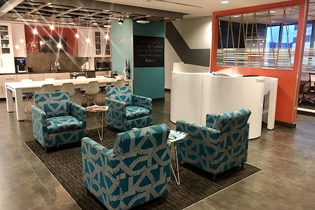 Regus | 12100 Wilshire Blvd - Open Desk - Lounge Membership