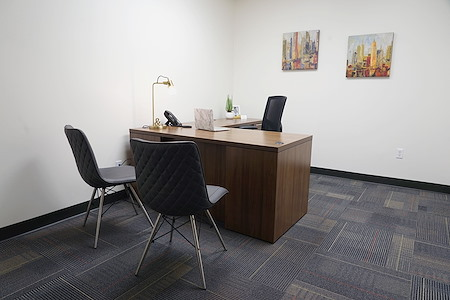 Executive Workspace  Richardson - Private Interior Office