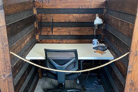 Hunt Street Station - Dedicated Desk