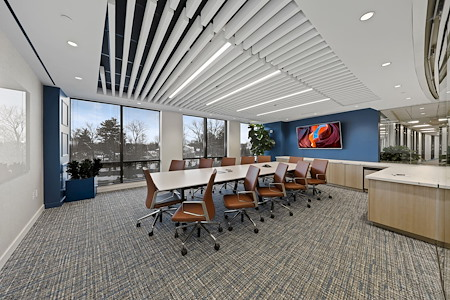 Carr Workplaces - Friendship Heights - Stewart Boardroom