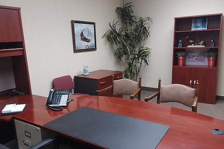 Jurupa Valley Executive Suites - Suite A4 with Golf Course View