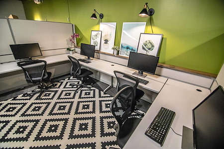 The Port @ Kaiser Mall (Uptown) - Semi-private TeamSpace for 10