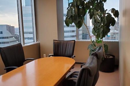 1600 Executive Suites - Corner Window Conference Room