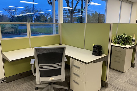 Z-Park Silicon Valley Innovation Center - Dedicated Desk Membership