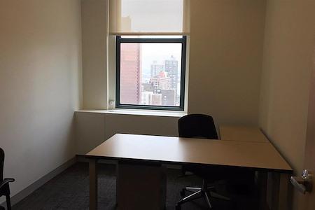 Corporate Suites: 2 Park Avenue - Window Day Office