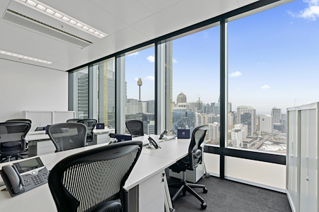 The Executive Centre - Three International Towers - 10-12 pax Private Office (Harbour Views)