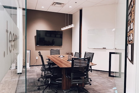 CUBE Executive Suites at Market Street - Meeting Room for Eight
