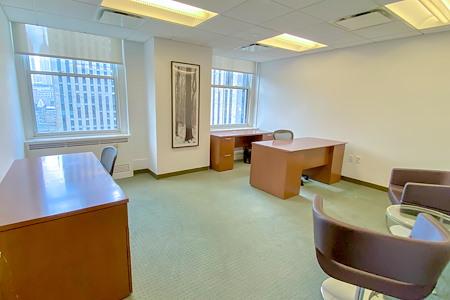 Rockefeller Group Business Centers-45 Rockefeller Plaza - Suite with Rockefeller Plaza View