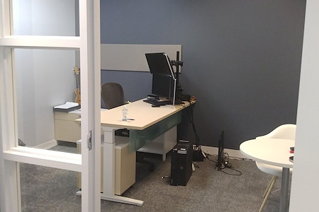 Guzman & Company - Interior Private Office with door& lock