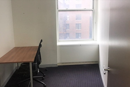 Coalition Space | Flatiron - 1-2 Person Windowed Office