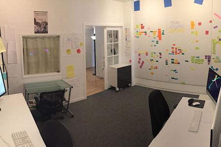 Maybeck Studios/Serendipity Films LLC - Large private office