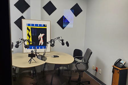 The  Wright Village - Podcast Room