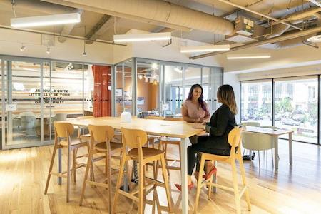 Regus | SPACES @ Fairfax - Open Desk- Membership UNLIMITED