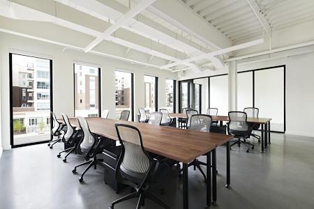 The Shop - Salt Lake City - Large Team Office Configuration