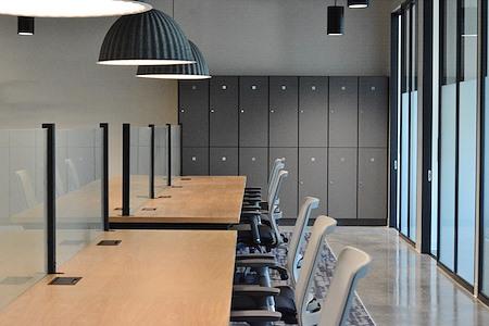 Venture X Charlotte - The Refinery - Dedicated Desk
