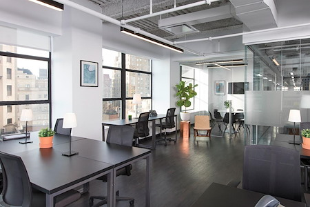 Bond Collective at 60 Broad Street - Suite 2504 [15+ desks w/ pvt conf. room]