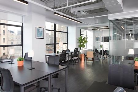 Bond Collective at 60 Broad Street - Suite 2401 [20+ desks w/ pvt conf. room]